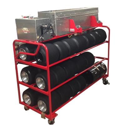Rolling Tire Storage Rack >> Larry Jones Motorsports
